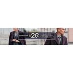 Vistula: dodatkowe 20% zniżki na wszystkie garnitury, kurtki i płaszcze z kategorii Sale do 70%