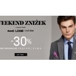 Vistula: Weekend Zniżek 30% rabatu na jesienno-zimową kolekcję odzieży męskiej