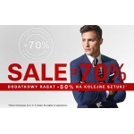Vistula: wyprzedaż dodatkowe 50% rabatu na kolejne sztuki odzieży męskiej z wyprzedaży