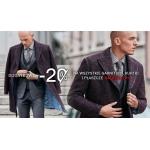 Vistula: dodatkowe 20% zniżki na wszystkie garnitury, kurtki i płaszcze