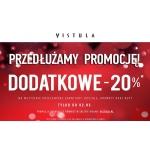 Vistula: dodatkowe 20% na przecenione garnitury, koszule, krawaty oraz buty