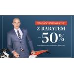 Vistula: 50% rabatu na garnitury męskie