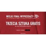 Vistula: wyprzedaż do 70% rabatu na wszystko, trzecia sztuka z wyprzedaży gratis