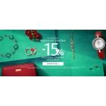 W.Kruk: Weekend Zniżek 15% zniżki na biżuterię, zegarki i akcesoria