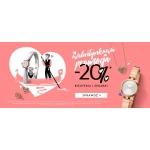 W.Kruk: Walentynkowa promocja - 20% zniżki na biżuterię oraz zegarki