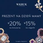 W.Kruk: do 20% zniżki na biżuterię na Dzień Matki