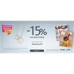 W.Kruk: weekend zniżek 15% zniżki na biżuterię