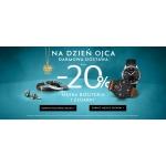W.Kruk: 20% zniżki na biżuterię męską oraz zegarki na Dzień Ojca