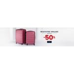 Wittchen: minimum 50% rabatu na walizki