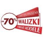 Wittchen: wyprzedaż do 70% zniżki na wybrane modele walizek