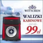 Wittchen: walizki kabinowe od 99 zł