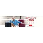 Wittchen: Happy Days do 70% rabatu na walizki, torby, kosmetyczki i galanterię skórzaną