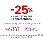 Wittchen: Stylowe Zakupy 25% rabatu na asortyment nieprzeceniony