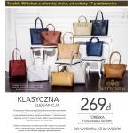 Wittchen: torebki za 269 zł w Lidlu
