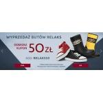 Wojas: wyprzedaż 50 zł rabatu na buty marki Relaks