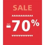 Wójcik: wyprzedaż do 70% zniżki