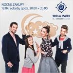 Nocne Zakupy w warszawskim centrum Wola Park 18 kwietnia 2015