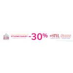 Wólczanka: Stylowe Zakupy 30% zniżki na koszule damskie, męskie, swetry oraz akcesoria