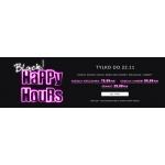 Black Happy Hours Wólczanka: zniżki na koszule damskie i męskie oraz krawaty
