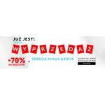 Wólczanka: wyprzedaż do 70% zniżki na koszule + trzecia sztuka gratis