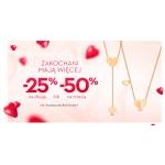 Yes: Walentynkowa promocja 25% rabatu na drugą sztukę biżuterii lub 50% zniżki na trzecią sztukę biżuterii