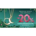 Yes: 20% zniżki na drugą i każdą kolejną sztukę biżuterii