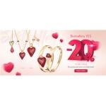 Yes: 20% rabatu na romantyczne wzory biżuterii na Walentynki