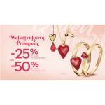 Yes: 25% lub 50% rabatu na biżuterię