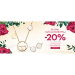 Yes: 20% rabatu na drugą i każdą kolejną, nie droższą sztukę biżuterii