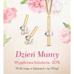 Yes: 20% zniżki na wyjątkową biżuterię z okazji Dnia Matki