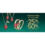 Yes: Weekend Zniżek 25% lub 50% rabatu na biżuterię