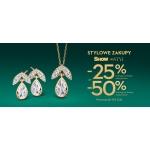 Yes: Stylowe Zakupy 25% lub 50% rabatu zniżki na biżuterię