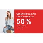 Zalando: do 50% rabatu na wiosenne bluzki dla kobiet
