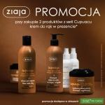 Ziaja: przy zakupie 2 produktów z serii Cupuacu krem do rąk w prezencie