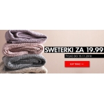 ZOiO: sweterki za 19,99 zł