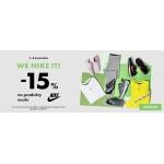 50Style: 15% zniżki na produkty marki Nike