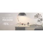 Almi Decor: 15% zniżki na wybrane produkty m.in. lampy na biurko, lampy stołowe i inne meble