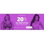 Astratex: 20% rabatu na wszystkie biustonosze