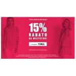 Avaro: 15% rabatu na wszystko z odzieży damskiej