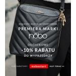 Balladine: dodatkowe 10% do wyprzedaży marki Nobo