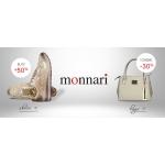 Casu: do 50% zniżki zniżki na torebki i buty marki Monnari