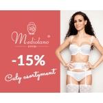 Bardotti: 15% zniżki na bieliznę marki Mediolano