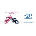 Bartek: 20% zniżki na obuwie