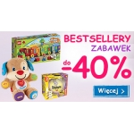 Smyk: bestsellery zabawek do 40% taniej