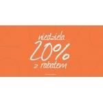 Blue Shadow: 20% rabatu na odzież damską