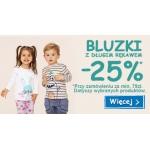 Smyk: 25% zniżki na bluzki z długim rękawem