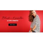 Bon Prix: wyprzedaż 20% rabatu na bluzki i koszulki