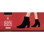 Born2be: 50% rabatu na drugą parę obuwia