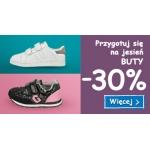 Smyk: 30% zniżki na buty na jesień