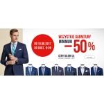 Bytom: 50% rabatu na wszystkie garnitury z kolekcji W/L 2017